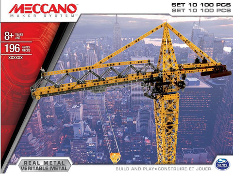 Meccano TOWER CRANE set