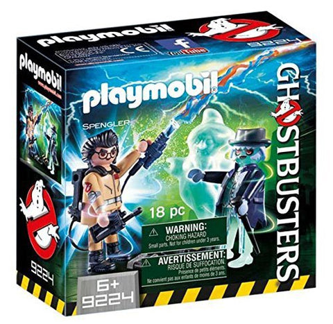 PLAYMOBIL 9224 GHOSTBUSTERS™ Spengler with Ghost