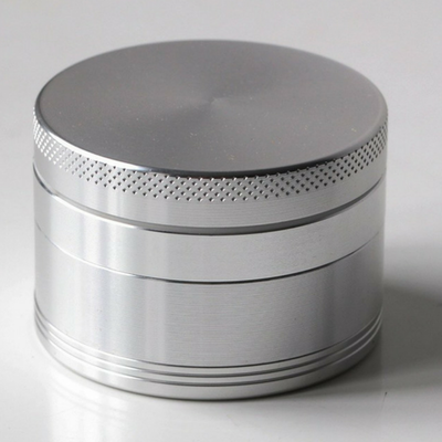 Silver Grinder for Dry Herbs 55MM