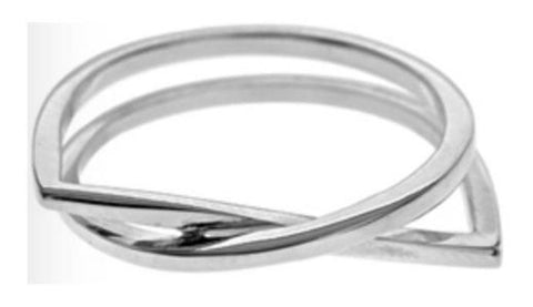 Abstract Design Ring (Medium)
