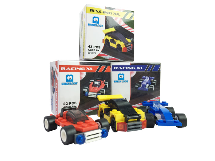 Brick Loot Racing XL Race Cars