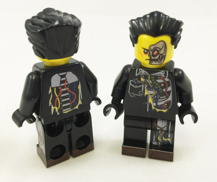 Brick Loot Exclusive Al B. Back Custom LEGO® Minifigure LIMITED EDITION