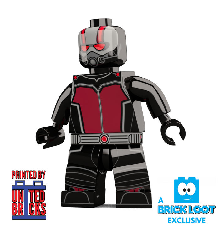 Brick Loot Exclusive Ant Man Custom LEGO Minifigure LIMITED EDITION from the UK!
