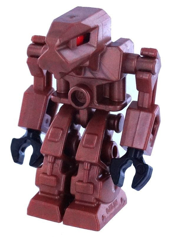 LEGO Minifigure Exo-Force Robot Iron Drone in Brown, Red Eyes (Limit One)