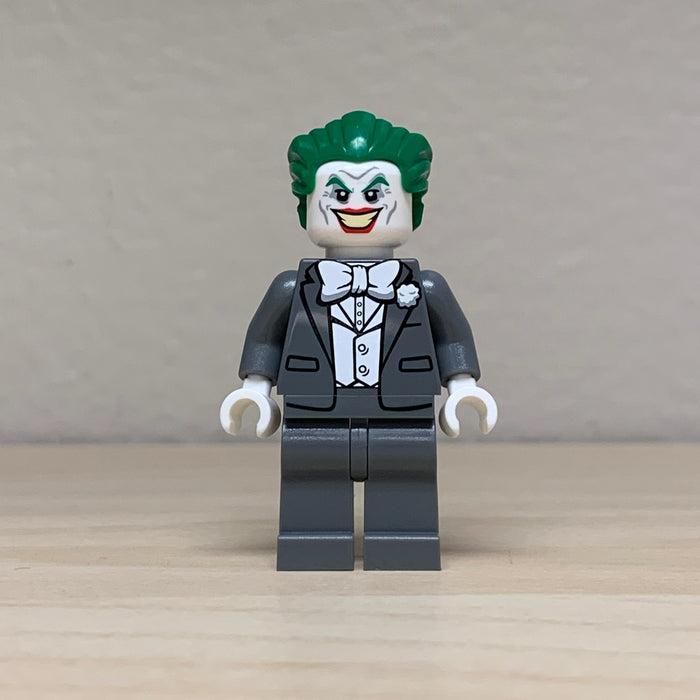 Christo Custom Pad Printed Grey Joker LEGO Minifigure - LIMITED EDITION