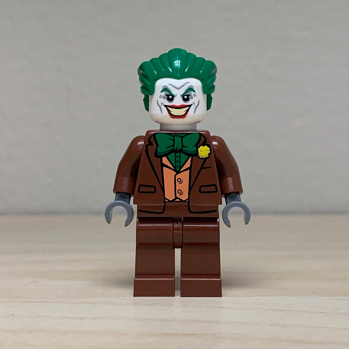Christo Custom Pad Printed Brown Joker LEGO Minifigure - LIMITED EDITION