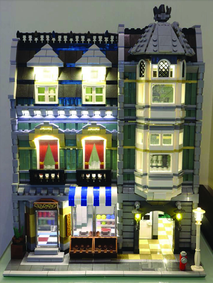 LED Lighting kit for LEGO® Green Grocer 10185