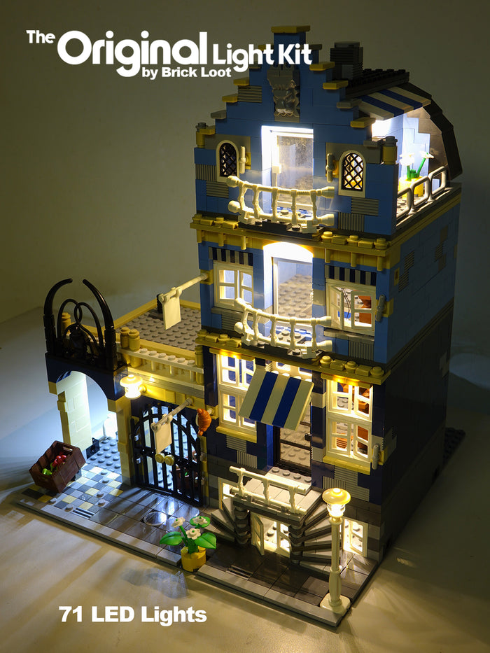 LED Lighting kit for  LEGO® Market Place 10190