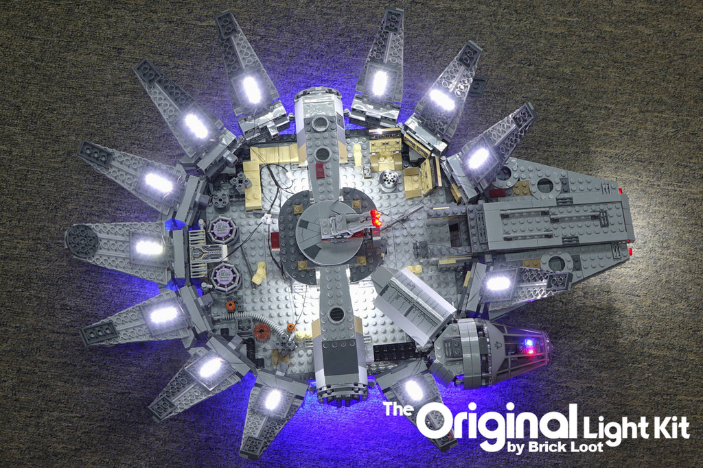 LED Lighting kit for LEGO 75105 Millennium Falcon