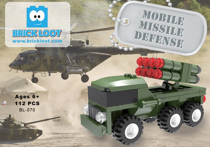 Mobile MIssile Defense Military Truck