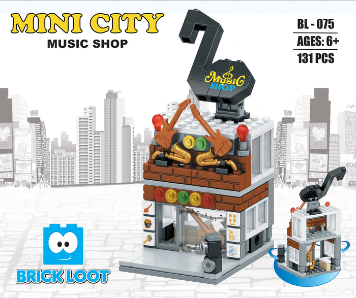 Mini City - Music Shop