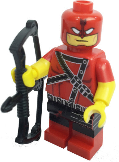 Brick Loot Exclusive Red Archer Custom LEGO® Minifigure LIMITED EDITION