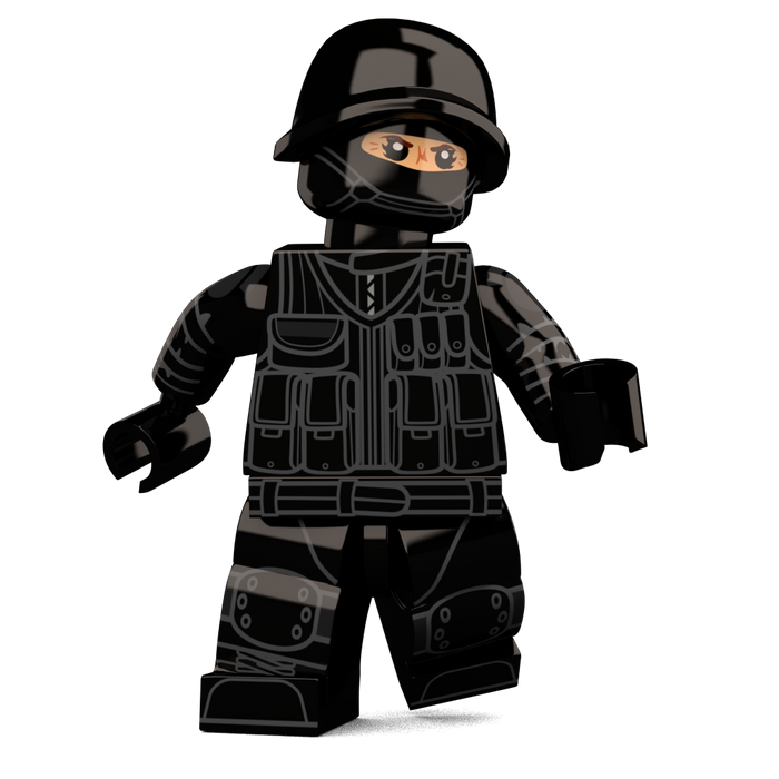 Brick Loot Exclusive Special Ops Custom LEGO® Minifigure LIMITED EDITION