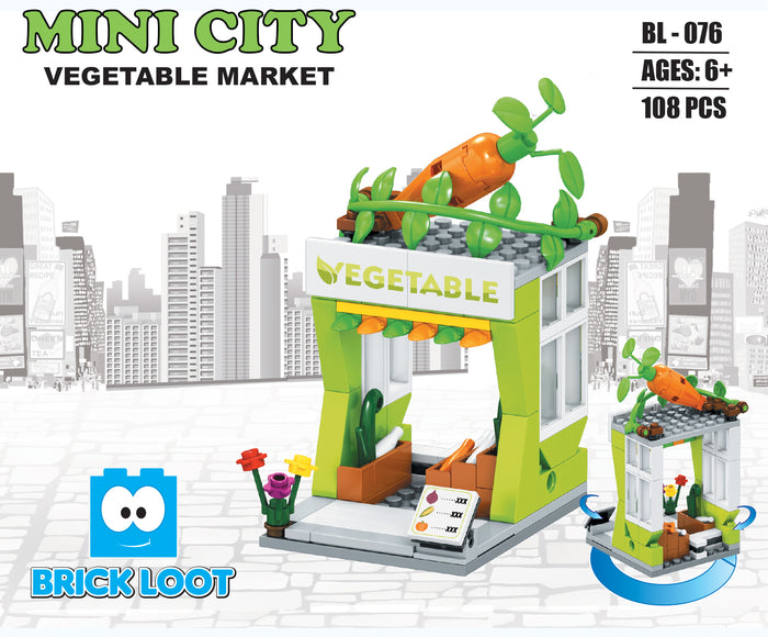 Mini City - Vegetable Market
