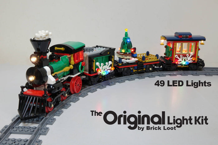LED Lighting kit for LEGO 10254 Winter Holiday Train