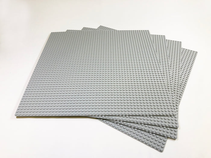 "Baseplate Bundle - 4 pack of GRAY 48x48 - 15"" x 15"" Base Plates"