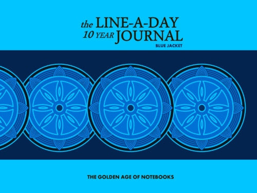 The Line-A-Day 10 Year Journal: Blue Jacket by The Golden Age of Notebooks (ProductiveLuddite.com)