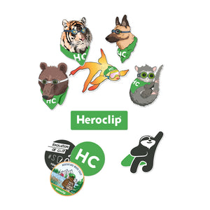 Heroclip Sticker Hodgepodge