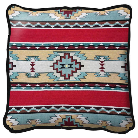 Southwest Rimrock Red Tapestry Pillow
