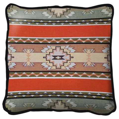 Southwest Rimrock Tapestry Pillow