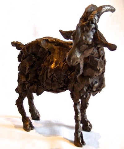 Gladys the Goat, Bronze Resin