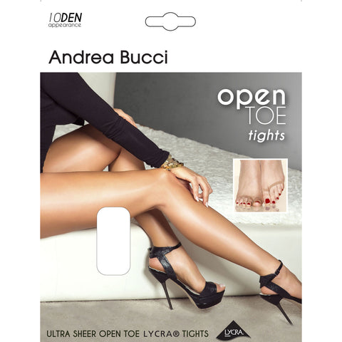 Andrea Bucci Ultra Sheer Open Toe Tights