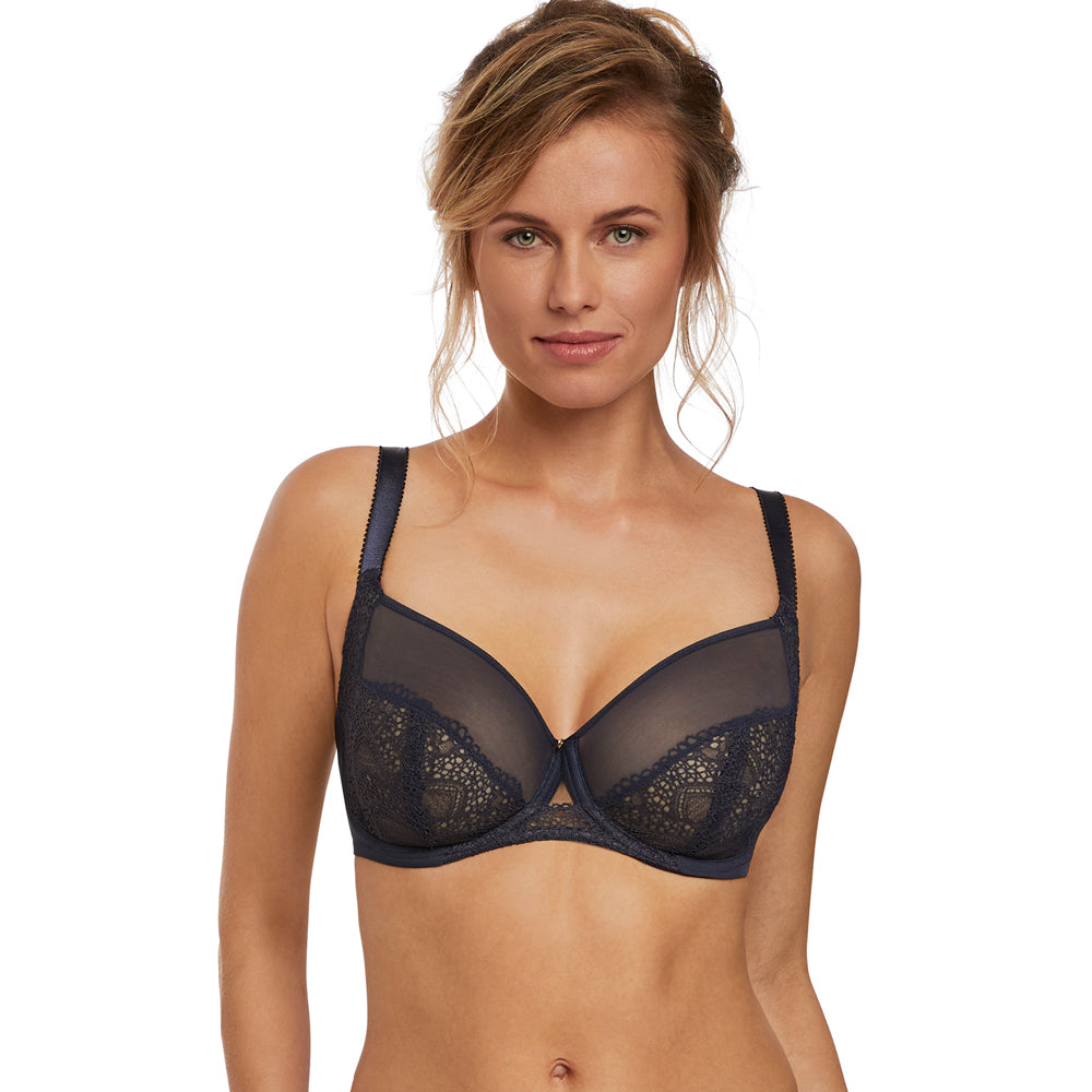 Twilight Side Support Bra from Fantasie in Ink