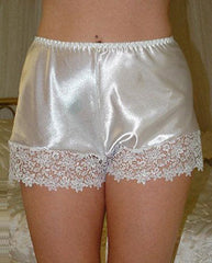 Vintage French Cami Knickers in Luxury Satin