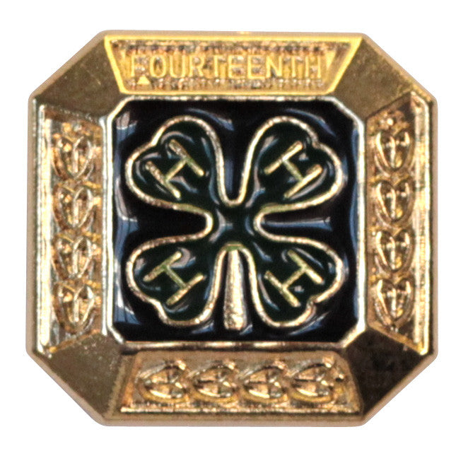 14th Year Member Gold Pin