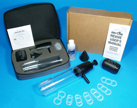 Encore Deluxe Battery Powered / Manual Combo Vacuum Erectile Dysfunction Pump