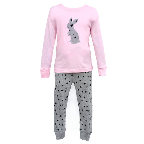 Pajamas, Children's PJs Cotton Jammies Set – Bunny
