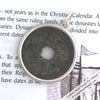Song Dynasty 2 Cash Treasure Coin Sterling Silver Pendant