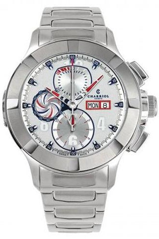Charriol Gran Celtica Chronograph Automatic 46mm Stainless Steel Watch