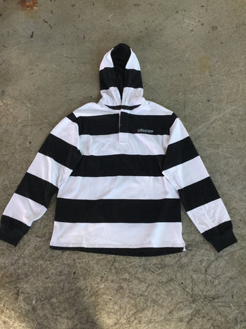 Pitcrew 121 Hooded Rugby