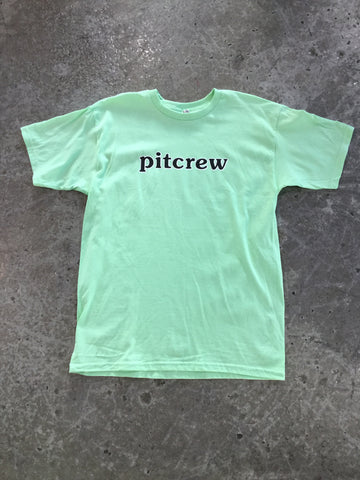 Pitcrew 121 T-shirt Lime Green/Black