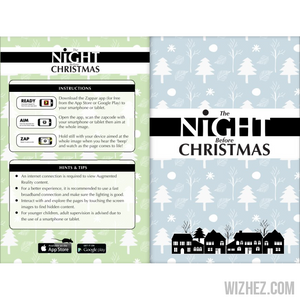 """The Night Before Christmas"" Augmented Reality Book-Augmented Book-Wizhez"