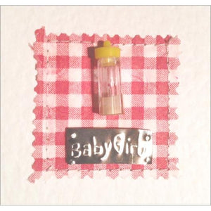 New Baby Girl Greeting Card