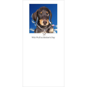 posh pawz doberman pup mothers day card