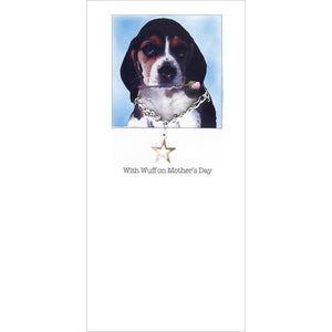 posh paws beagle puppy mothers day card