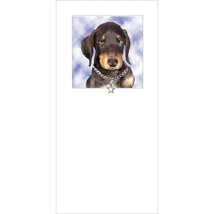 Posh Pawz ALL BREEDS Puppy Greeting Card