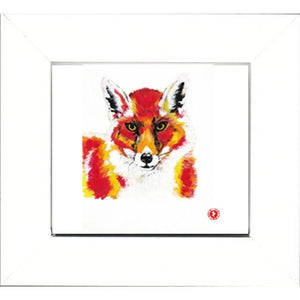 Augmented Reality Wall Art Framed Print - Red Red Fox