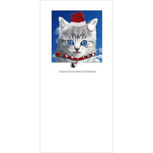 Posh Pawz Christmas Kittens Greeting Card