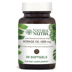 Borage Oil - Natural Nutra