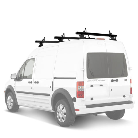 AA-Racks Aluminum Utility Van Roof Ladder Rack with Load Stop - (Fits: Ford Transit Connect 2008-13) (ADX32-TR) - AA Products Inc