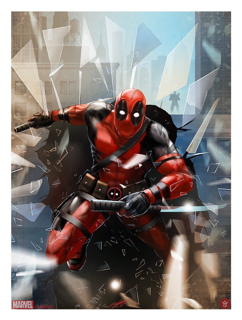Deadpool by Andy Fairhurst
