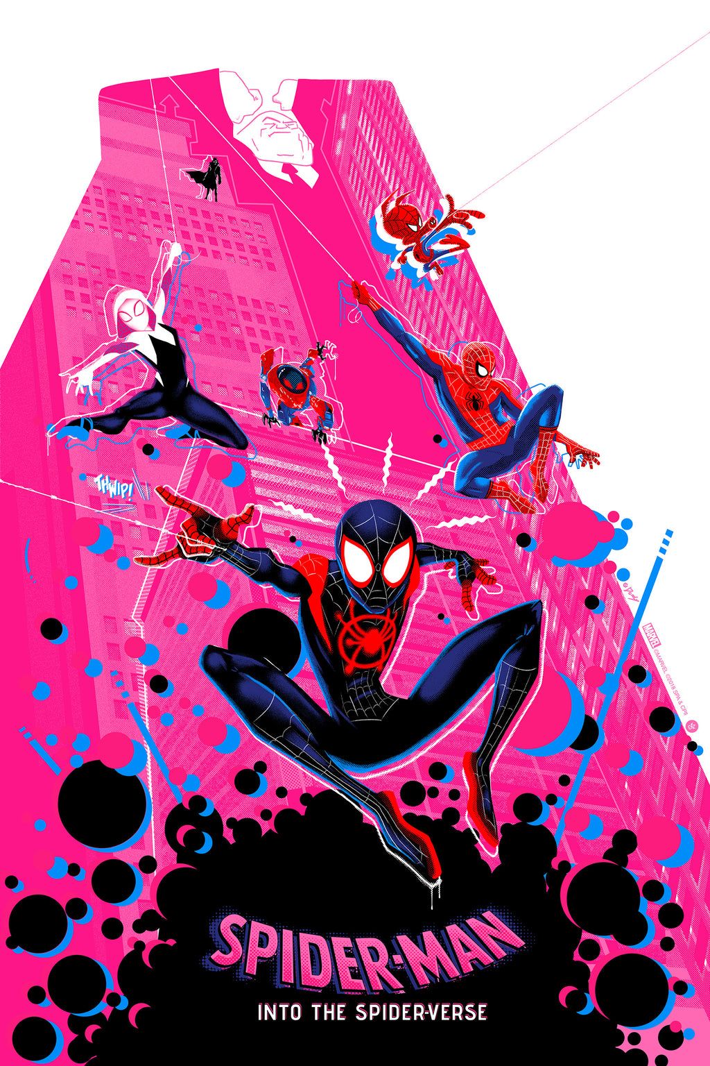 Spider-Man: Into the Spider-Verse Matching Set by Doaly