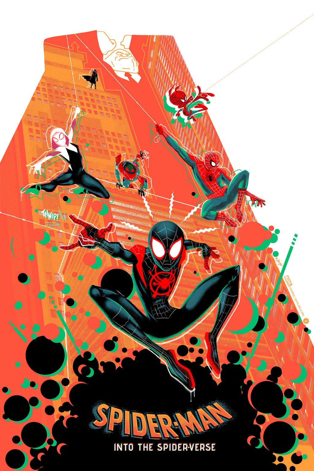 Spider-Man: Into the Spider-Verse Variant Edition by Doaly