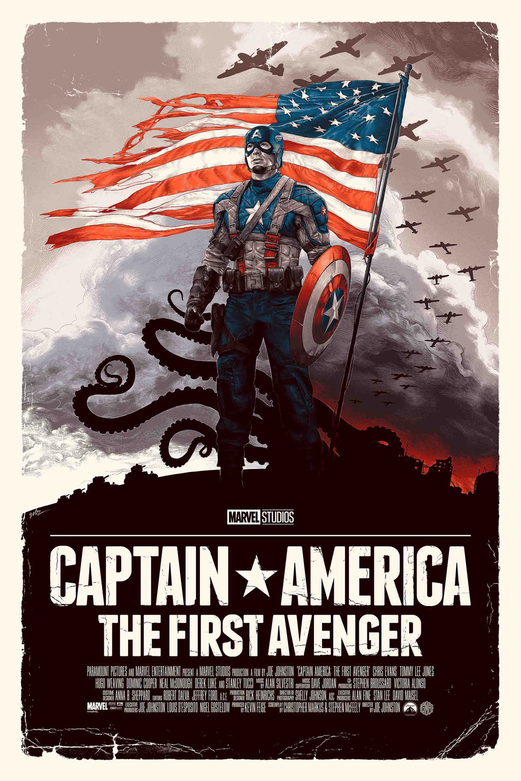 "Captain America: The First Avenger"" Freedom Variant by Gabz"