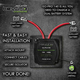 12V 140 Amp Dual Battery Smart Isolator