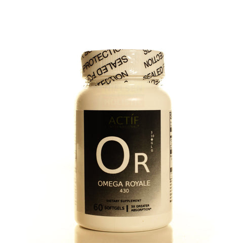 Actíf International® Omega Royale 430™ - 60 Softgels - Patented Formula